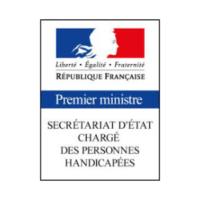 logo Secrétariat d'état chragé des personnes handicapés